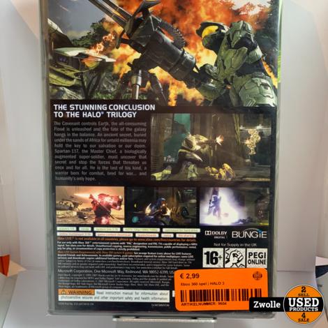 Xbox 360 game | HALO 3