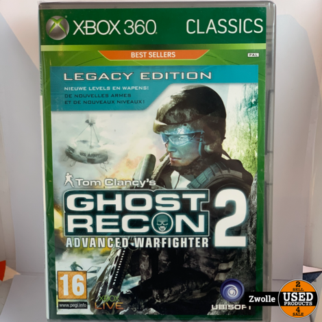 Xbox 360 game | Tom Clancy Ghost recon advanced warfighter