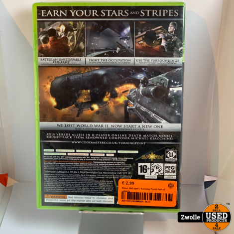 Xbox 360 game | Turning Point Fall of Liberty
