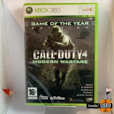 Xbox 360 game | Call of Duty 4 Modern Warfare