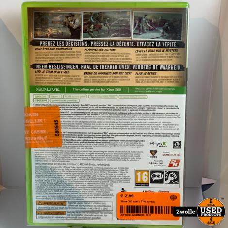 Xbox 360 game | The bureau