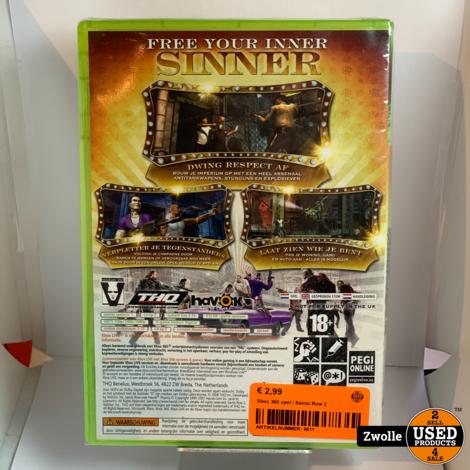 Xbox 360 game | Sainis Row 2