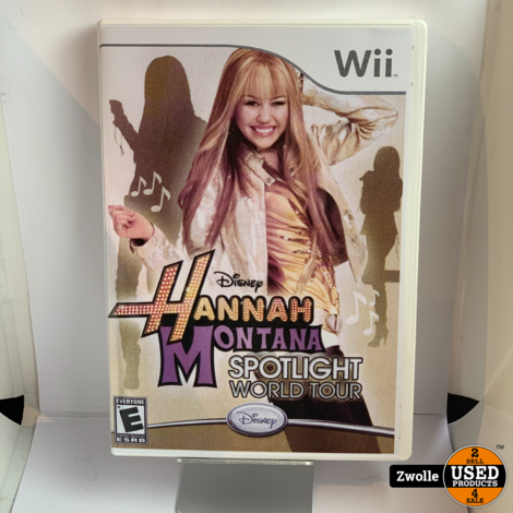 Nintendo Wii game | HAnnah Montana