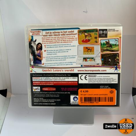 Nintendo DS game | Laura's passie paardrijden