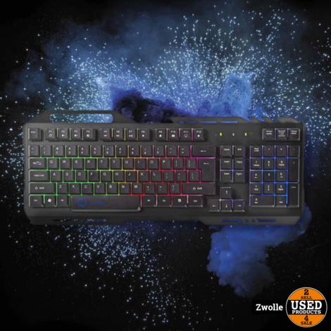 Nedis Gaming-toetsenbord | RGB-verlichting | USB 2