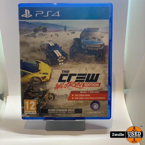 Playstation 4 game The Crew