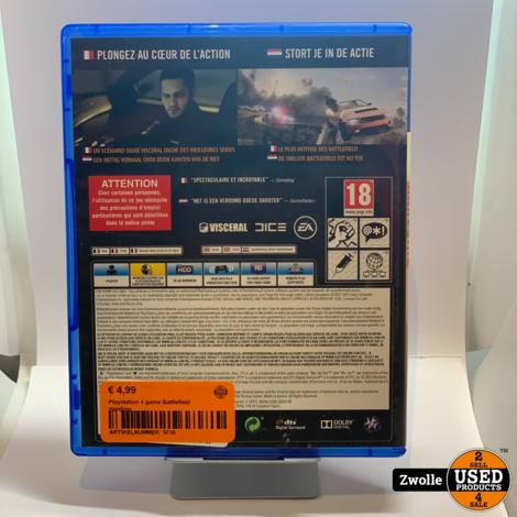 PS4 Game | Battlefield Hardline