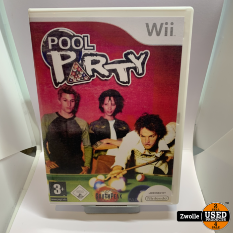 Nintendo Wii game Pool Party