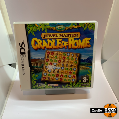 Nintendo DS game  | Jewel master Cradle of Rome