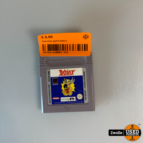 Gameboy game Asterix