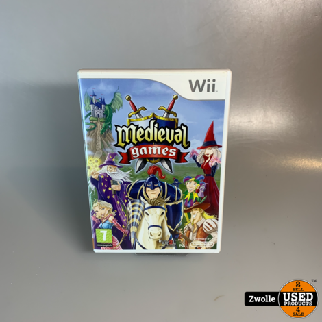 Wii game medieval games