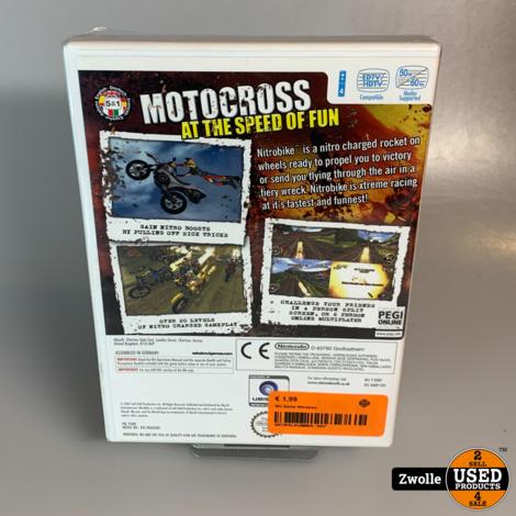 Wii Game Nitrobike
