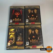 overig Diablo PC game inclusief 3 expansion CD's