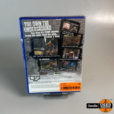 PS2 spel | tony hwak's underground