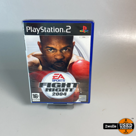 Playstation 2 game   fight night 2004