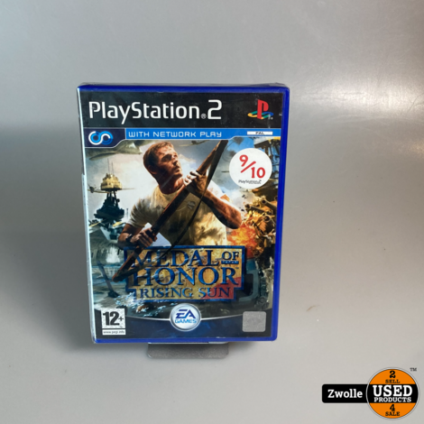 ps2 game medal of honor : rising sun