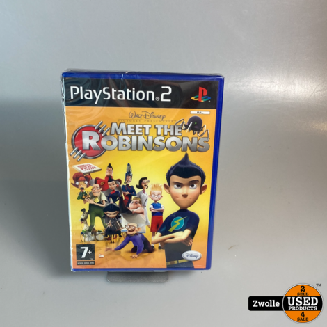 ps2 game   meet the robinsons