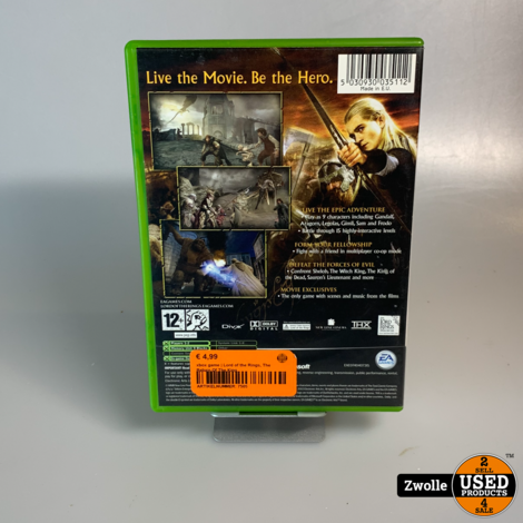 xbox game | Lord of the Rings, The Return Of The King