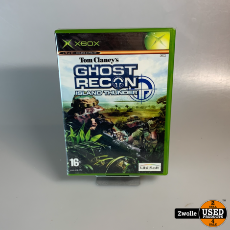xbox game | ghost recon , island thunder