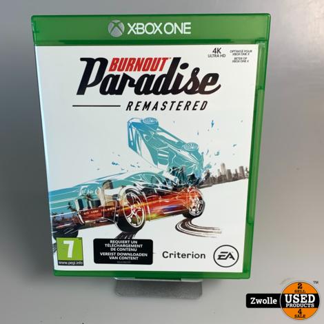 Xbox One game | Burnout Paradise - Remasterd