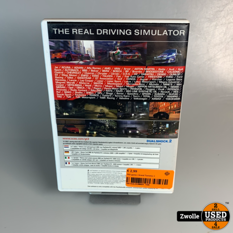 PS2 game | Grand Turismo 3