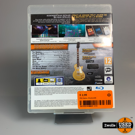 PS3 Game | Rocksmith