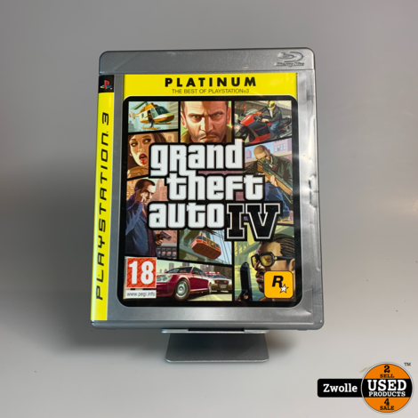 PS3 Game   Grand Theft Auto IV