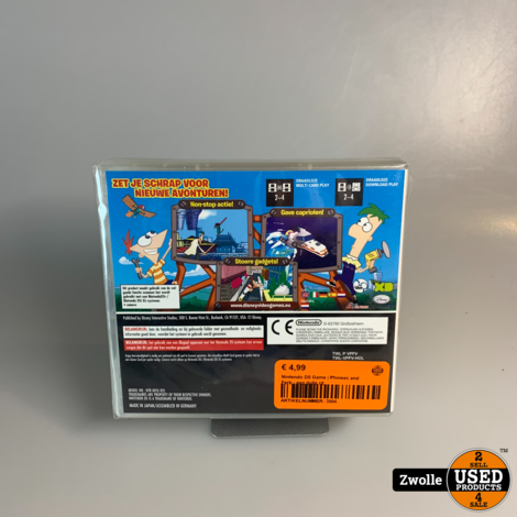 Nintendo DS Game | Phineas and Ferb - een dolle rit
