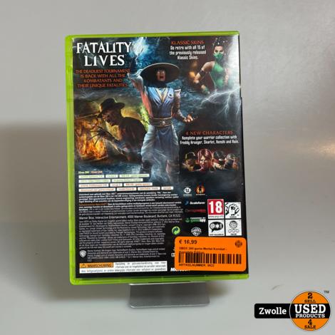 XBOX 360 game Mortal Kombat - Komplete Edition