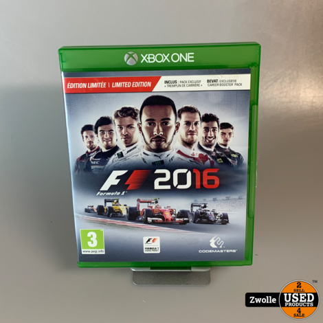 Xbox One Game | F1 2016