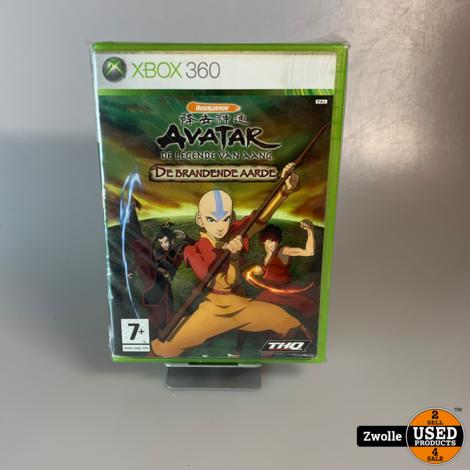 Xbox 360 Game   Avatar - De Legende Van Aang - De Brandende Aarde