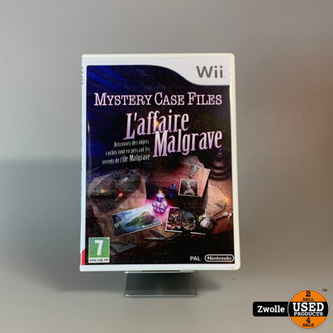 Nintendo Wii Game | Mystery Case Files