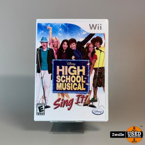 Nintendo Wii Game | High School Musical - Sing It