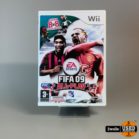 Nintendo WII Game | Fifa 09 All-Play