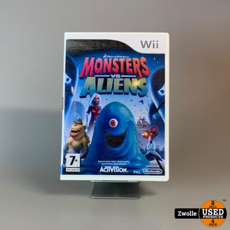 Nintendo WII Game | Monsters VS Aliens