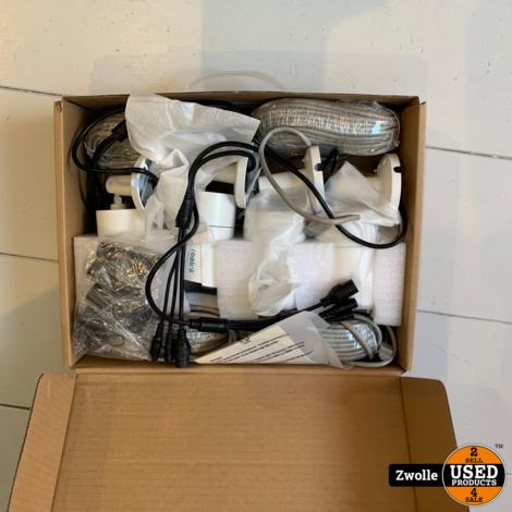 Reolink beveiliging Camera systeem met 4 camera's | Nieuw open doos | RLK8-410B4-5MP 2TB opslag POE