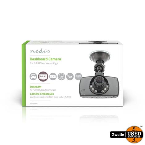 Nedis Dashcam   Full-HD 1080p   2.8 meekijkscherm
