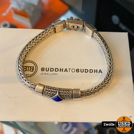 BUDDHA TO BUDDHA Ellen XS stone armband J005BU | 17 centimeter