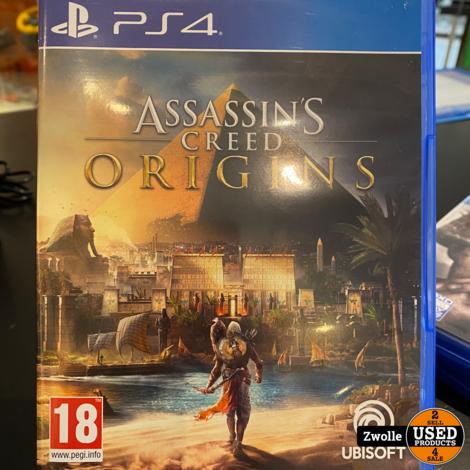 Playstation 4 game Assassins Creed Origin