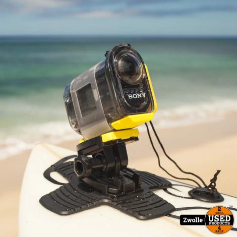 Sony Action Cam HDR-AS20 met veel accessoires