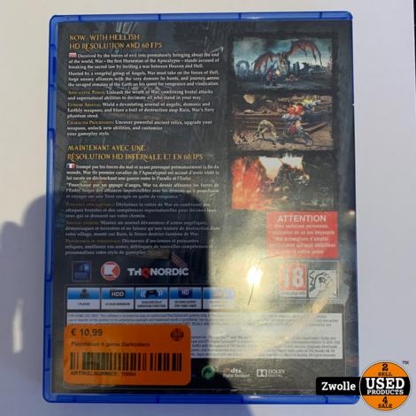 Playstation 4 game Darksiders