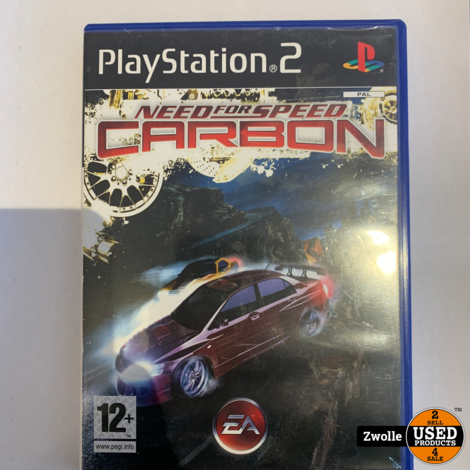 Playstation 2 game Need For Speed Carbon