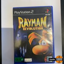 Playstation 2 game Rayman Revolution
