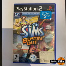 Playstation 2 game The sims