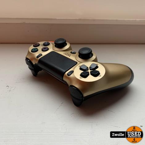Sony PlayStation 4 Dualshock controller   Used   goud