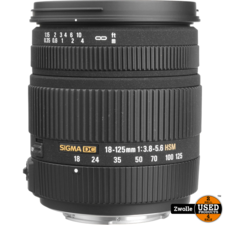 sigma Sigma lens Sigma DC 18-125 1:3.8-5.6   Canon