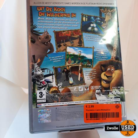 Playstation 2 game Madagascar