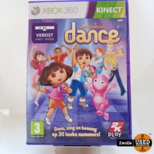 xbox XBOX 360 game Nikelodeon Dance