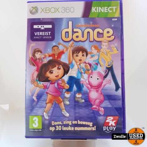 XBOX 360 game Nikelodeon Dance