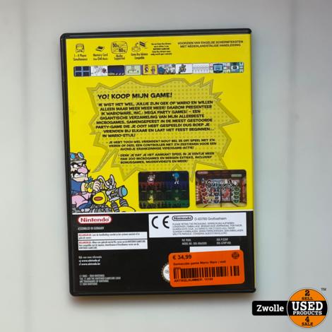Gamecube game Wario Ware | met inlay